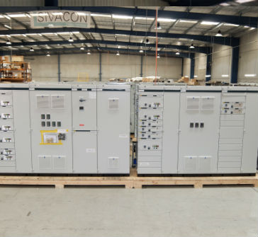 Sivacon Low Voltage Power Distribution Board (Siemens)